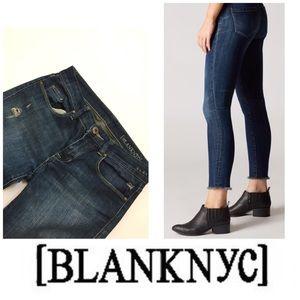 🚨 Final Sale🚨 Blank NYC Raw Hem Skinny Jeans 👖